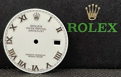 $ CDN461.88 • Buy Rolex Men's 36mm Datejust Factory White Dial W/Roman Numeral Markers 116234
