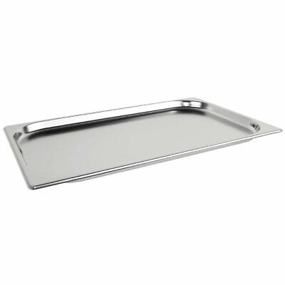 £19.94 • Buy Stainless Steel 1/1 Size Gastronorm Pan Full Size Bain Marie Pot