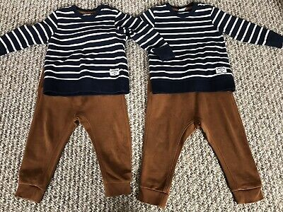 Twin Boys 12-18 Mths H&M Outfit • 0.99£