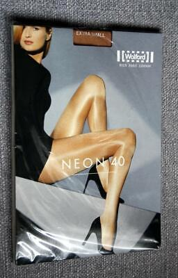 WOLFORD NEON 40 NYLON PANTYHOSE TIGHTS Size Extra Small • 9.99£