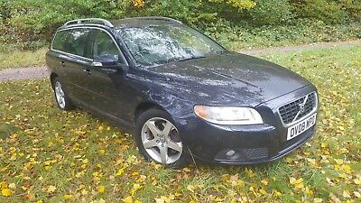 Volvo V70 Se Lux D5 Reg 2008 Nice Car Fully Loaded Loads Of History Ready To Go • 1,000£