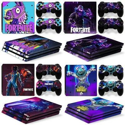 AU19.31 • Buy Fortnite Decal Vinyl For PS4 Pro Playstation 4 Skins Console Controller Stickers