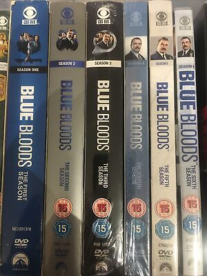 Blue Bloods - Complete Seasons 1 2 3 4 5 6 Dvd Boxsets • 36£