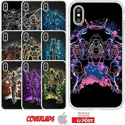 AU16.95 • Buy Silicone Cover Case Overwatch Video Shooter Game Characters Damage  - Coverlads