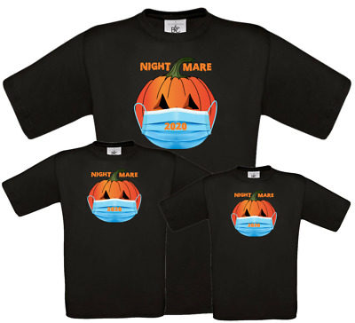 Halloween T Shirt Social Distancing Funny Horror Inspired Tee For Family T • 6.99£