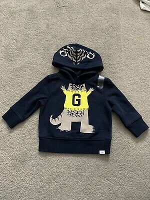Gap 12-18months Brand New With Tags Dinosaur Hoody • 1.60£