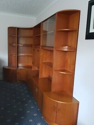 G Plan Teak Corner Wall Unit • 100£