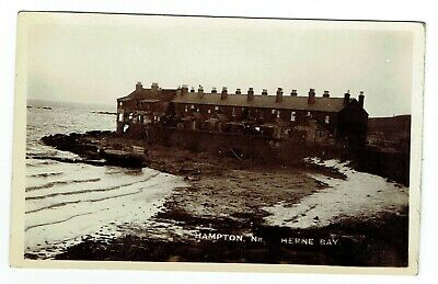 Kent Postcard Hampton Near Herne Bay • 15£