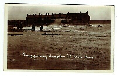 Kent Postcard Disappearing Hampton Near Herne Bay • 15£