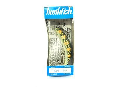 $ CDN18.14 • Buy Kwikfish K14 PS Perch Scale Color New In Box Old Stock