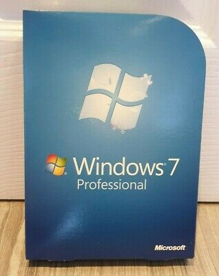 Genuine, New And Sealed Microsoft Windows 7 Professional Retail Full Edition • 49£