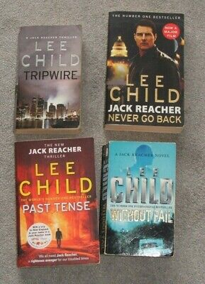 Four Jack Reacher Books By Lee Child • 4.50£