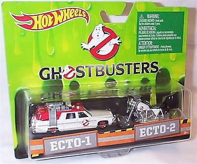 Ghostbusters Ecto-1 & Ecto 2 Bike 1-64 Scale New In Packet • 14.99£