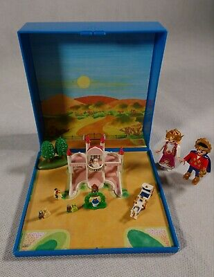 PLAYMOBIL 4330 Fairy Tale Castle Magnetic Micro World Playset 99% Complete • 12.99£