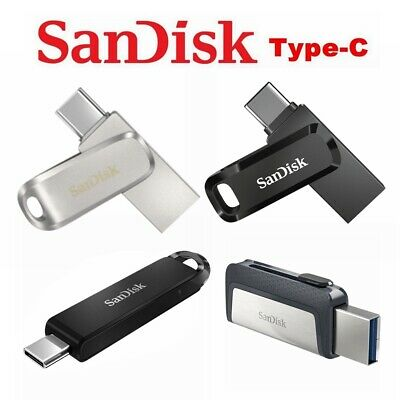 AU18.95 • Buy SanDisk Type C USB 3.1 32GB 64G 128G 256G Ultra Dual Luxe Go Flash Drive Memory