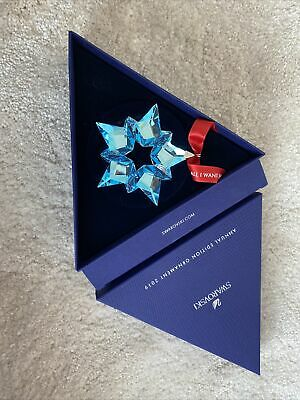 Swarovski Snowflake 25th Anniversary Ornament Christmas Star Mariah Carey New • 30£