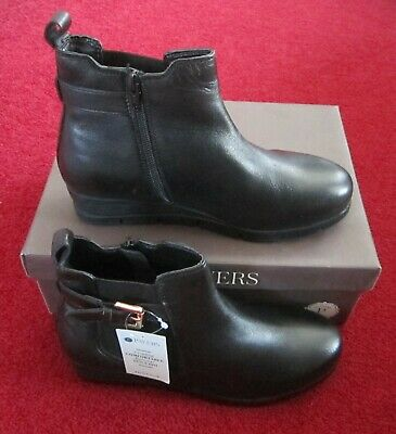 Brand New In Box Womens Pavers GL Boots Size U.K 5 In Black • 39.99£