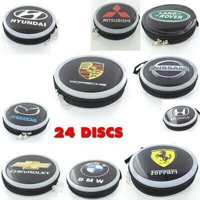 AU7.95 • Buy 24 Disc Wallet Sleeve Holder In Car Ideal For Storage Carry Case DVD CD