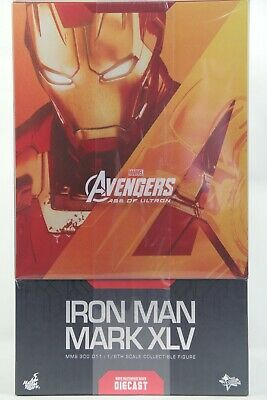 AU955.95 • Buy Hot Toys MMS-300 D11 1/6 Iron Man Mark XLV 45 Collectible Figure