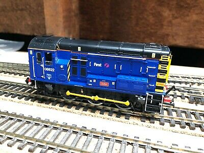 Hornby First Great Western Class 08 No 08 822  John  Ref R3343, DCC Ready • 75£