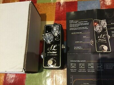 Xotic Effects USA SL Drive Overdrive Distortion • 95£