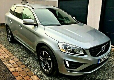 Volvo XC60 R-Design  Nav 2.0-D4-181 S/s ECO DRIVe GEARTRONIC 2 OWNER 8 SERVICES • 9,995£