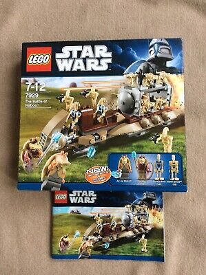 LEGO Star Wars The Battle Of Naboo 7929 Set Age 7-12 • 25£