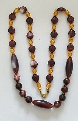Vintage Style Costume / Statement Jewellery Necklace • 0.99£