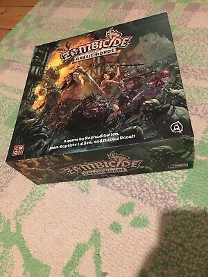 Zombicide Green Horde Board Game, Unused, Zombie Dungeon Crawl Cult • 45£