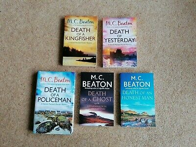 5 Recent M C Beaton Hamish Macbeth Books Death Of A Kingfisher, Ghost, Honest Ma • 14£