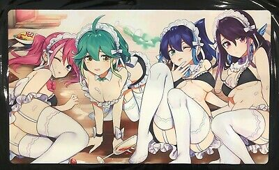AU33.95 • Buy Dragonmaid Sexy YuGiOh Playmat Trading Card Custom Play Mat Pokemon