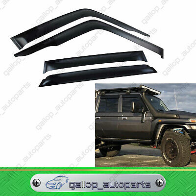 AU68 • Buy Deflector Guard Weather Shields For Toyota Landcruiser VDJ79 VDJ78 SUV 2007-2020