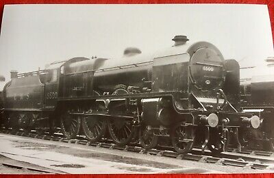 PHOTO  LMS PATRIOT CLASS LOCO 5500 Pre 1937 CROXTETH 3 March 1035  Later PATRIOT • 1.35£