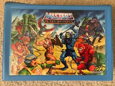 $199 • Buy Super 7 MOTU Carrying Case RARE Merman Exlclusive! Masters Universe Reaction