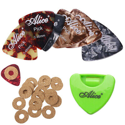 $ CDN11.79 • Buy Guitar Picks Celluloid Acoustic Electric & Guitar Picks Holder With Pick Grip