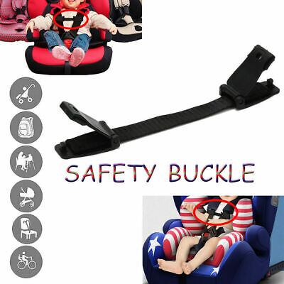 Car Safety Seat Strap Chest Clip Highchair Anti Escape Buggy Harness Lock Buckle • 4.68£