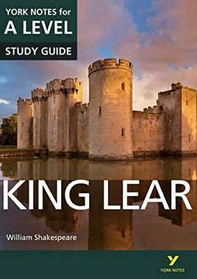 King Lear: York Notes For A-level (York Notes Advanced) New Paperback Book • 8.29£