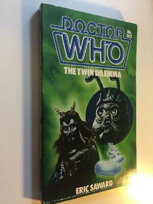 Doctor Who-The Twin Dilemma (Doctor Who, No 103), Eric Saward, Very Good Book • 1.99£