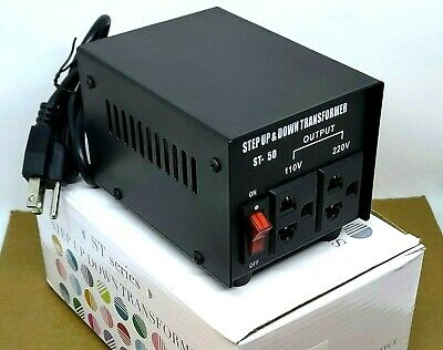 ST-50  50 Watt 110V To 220V Step Up And Down Transformer Voltage Converter • 7.65£