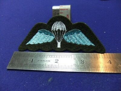 Badge Patch Airborne Parachute Wings Brevet Para Army Qualification Embroidered  • 6£