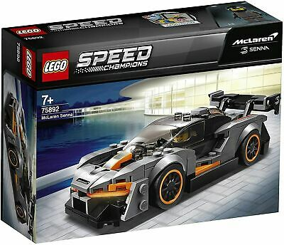 LEGO 75892 Speed Champions McLaren Senna Model Racing Toy Car • 12.99£