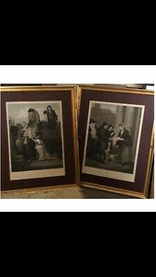 Cries Of London ~ C19th ~ F. Wheatley ~ 2 X Framed Prints ~ Plates  #7 And #11  • 50£