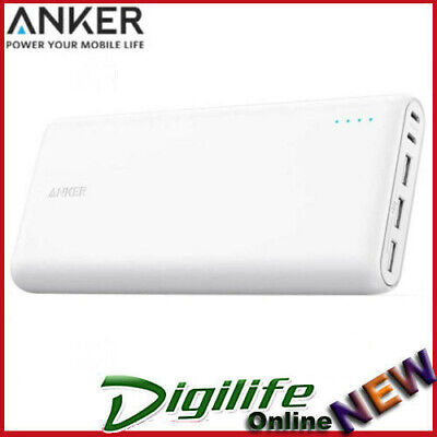 AU118 • Buy Anker PowerCore 26800mAh 3xUSB Portable Power Bank PowerIQ - White