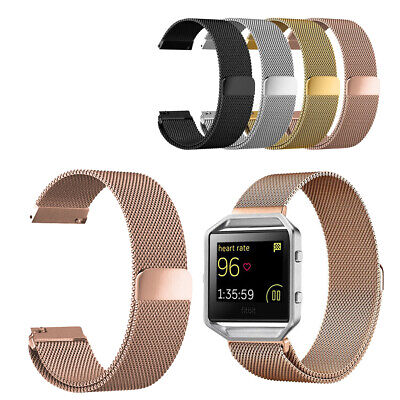 AU20.90 • Buy For Fitbit Blaze Magnetic Milanese Stainless Steel Mesh Watch Wrist Band Strap