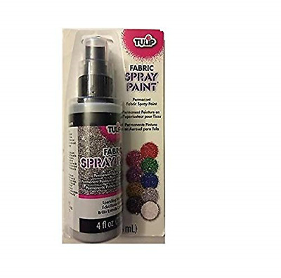 I Love To Create Tulip Fabric Spray Paint 4oz-Sparkling Star Glitter, Other, X X • 12.27£