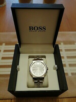 Hugo Boss HB.48.1.14.2111 Mens Smart Dress Watch In Excellent Condition • 26£
