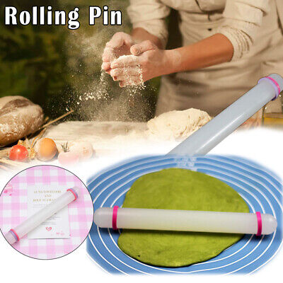 2x Non-stick Rolling Pin Polymer Clay Craft Tool Accessory Roller Pastry Boards • 7.61£
