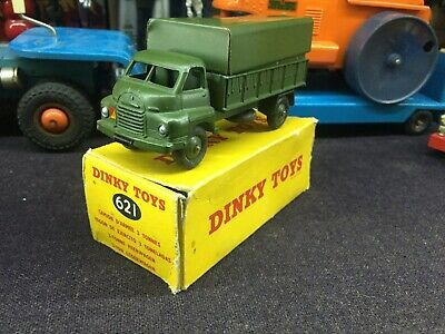 DINKY TOYS BIG BEDFORD 3 TON ARMY WAGON No 621 NEAR MINT CONDITION • 22£
