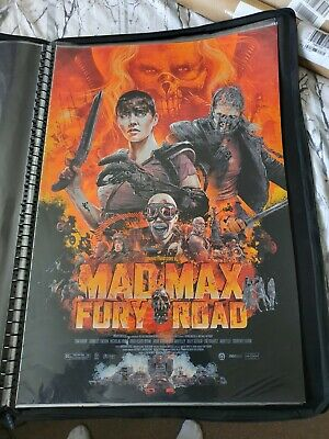 Mad Max Fury Road Screen Print By Vance Kelly - NT Mondo Poster - Edition Of 350 • 45£