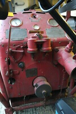 Beresford Stork Portable (!) Fire Trailer Pump. WW2 Era. Looks To Be Complete • 99£
